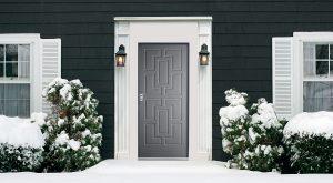 Porte d'entrée Dierre