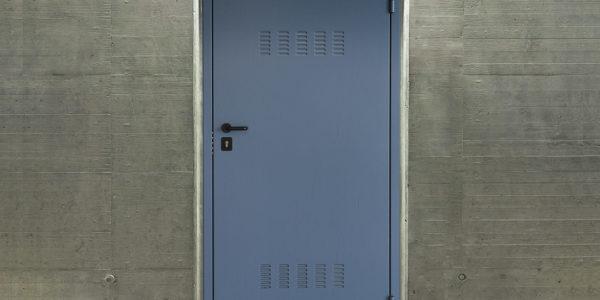 Porte blindée anti effraction de cave
