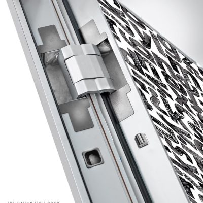 porte blindée de haute technologie Sleek
