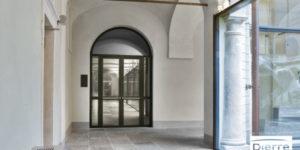 Porte vitrée coupe feu Visual